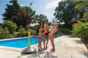 Solární sprcha na zahradu