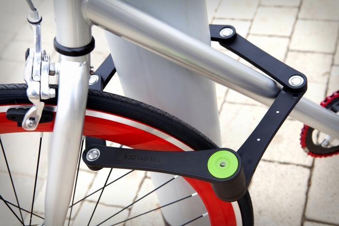 Zámek na kolo foldy lock