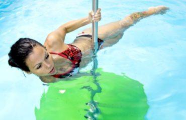 Cvičení ve vodě - posilování