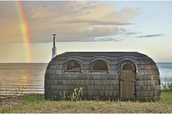 Iglu sauna triple