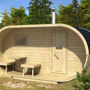 Oválná sauna 400