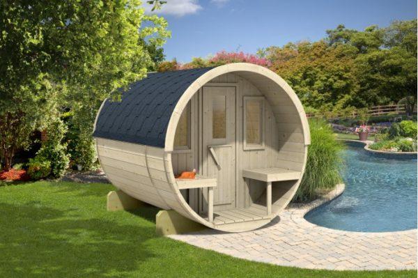 Sudová sauna 280 thermowood