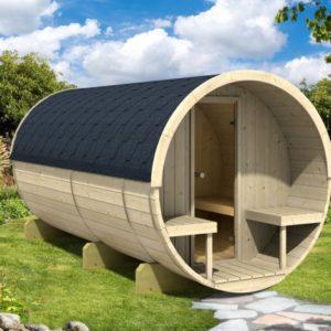 Sudová sauna 400 thermowood
