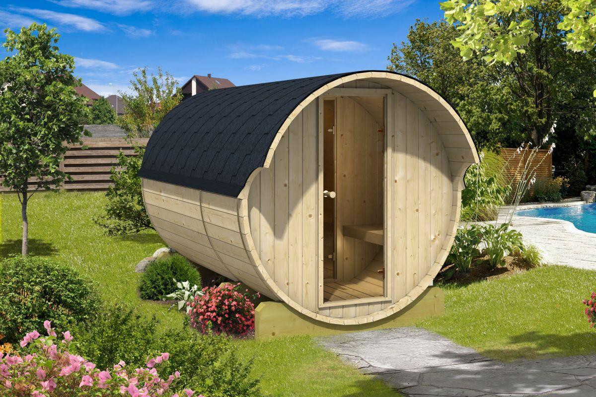 Sudová sauna 330 thermowood