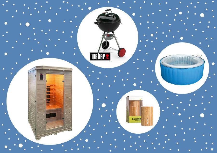 Vánoční nabídka - sauna, difuzér, gril a vířivka
