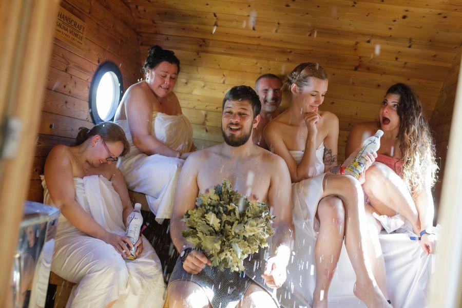 Saunafest v Aquapalace 2018