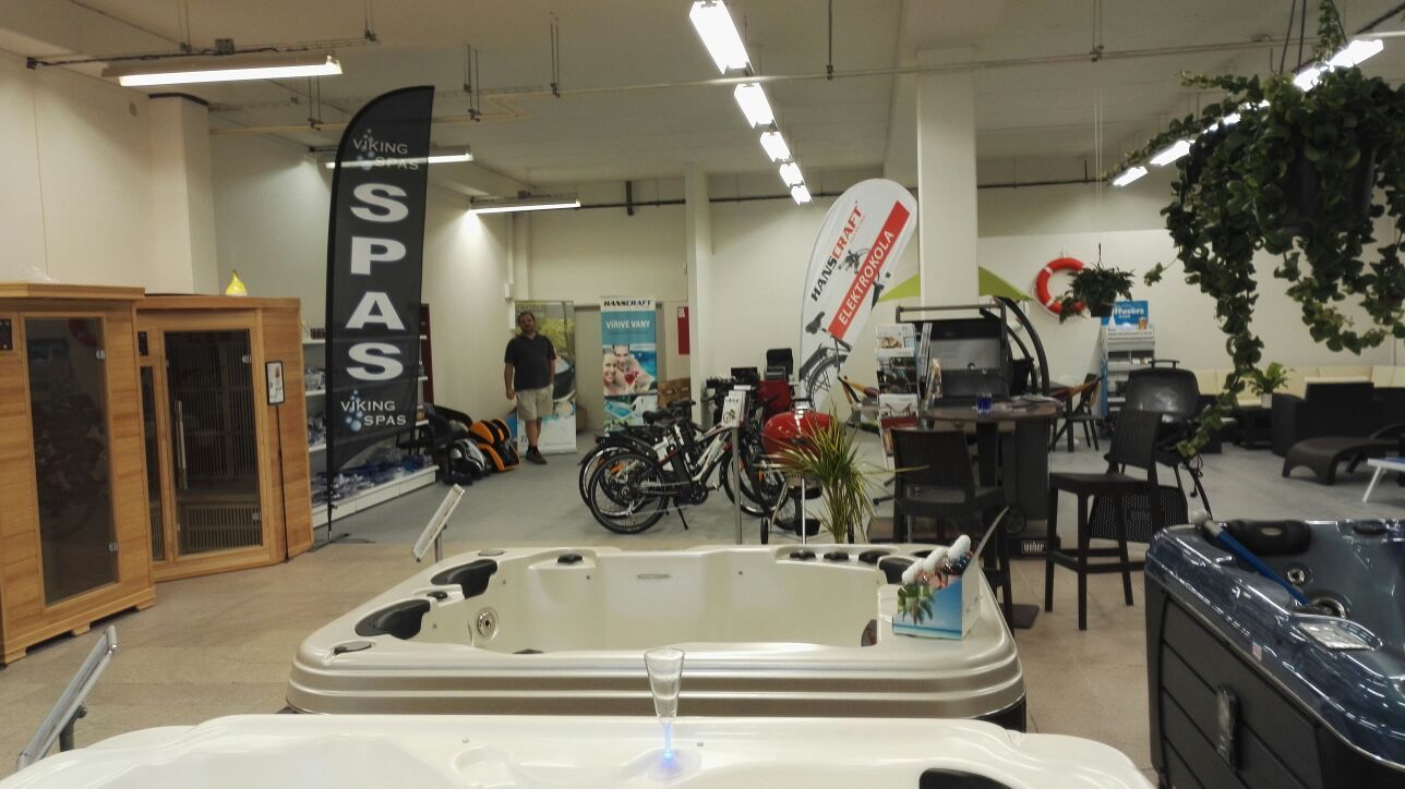 Showroom Liberec, infrasauny