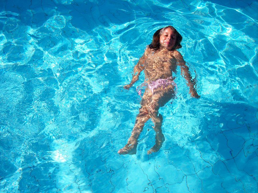 Otestujte si vodu v bazénu, vířivce